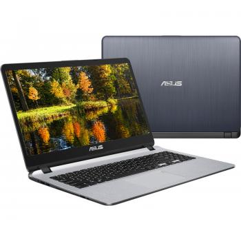 """Laptop Asus X507UA-EJ407 Intel Core i3-7020U 2.30 GHz 4GB DDR4 SSD 256GB Intel GMA HD 620 15.6"""" FHD Ultra Slim Endless OS Star Grey"""