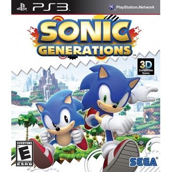 Sega Sonic Generations- PS3 Actiune   3 An   SEG-PS3-SONICGEN   Sega