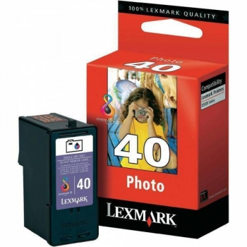 Cartus Cerneala Lexmark Nr. 40 Photo Color 135 Pagini for Lexmark X4850, X4875, X6570, X6575, X7675, X9575, Z1520, X9350 18Y0340E
