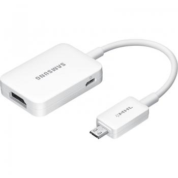 Adaptor Samsung HDTV 11-pin - MHL 2.0 compatibil cu Samsung i9505 Galaxy S IV alb ET-H10FAUWEGWW