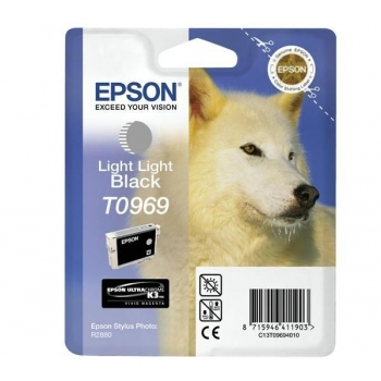 Cartus Cerneala Epson T0969 Light Light Black 11.4ml for Stylus Photo R2880 C13T09694010