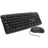 Kit Tastatura+Mouse Spacer Optic 3 butoane 2000dpi USB Tastatura Standard 104 taste SPDS-S6201