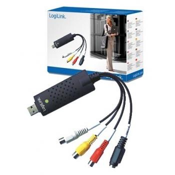 Placa de Captura Audio-Video LogiLink VG0001A