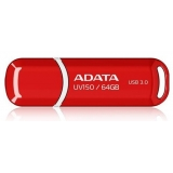 Memorie USB ADATA DashDrive Value UV150 64GB USB 3.0 Red AUV150-64G-RRD