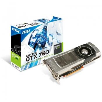Placa Video MSI nVidia GeForce GTX 780 3GB GDDR5 384bit PCI-E x16 3.0 2xDVI HDMI DisplayPort N780-3GD5