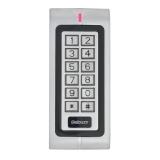 Terminal/Cititor de control acces cu cartele de proximitate si tastatura W1-B ,Cartele 125KHz (EM4100 sau compatibil),Distanta de citire 3-6 cm,Capacitate 2000 cartele sau coduri (4cifre),Conectivitate Wiegand 26 In/Out, rezistent la apa (IP-68)