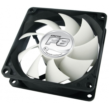 "FAN FOR CASE ARCTIC ""F8"" 80x80x25 mm, low noise FD bearing ""AFACO-08000-GBA01"""