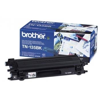 Cartus Toner Brother TN135BK Black 5000 pagini for DCP-9040CN, DCP-9042CDN, DCP-9045CDN, HL-4040CN, HL-4050CDN, HL-4070CDW, MFC-9440CN, MFC-9450CDN, MFC-9840CDW