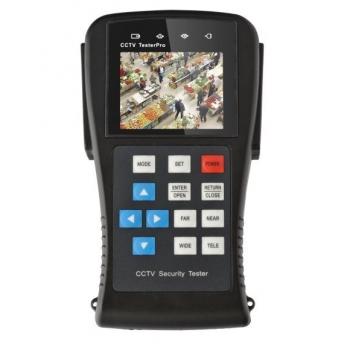 """Dispozitiv multifunctional portabil de testare si reglare a sistemelor CCTV T-891 echipat cu un ecran TFT de 2.8"""""""