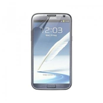 Folie protectie Samsung cu rama neagra pentru N7100 Galaxy Note II ETC-G1J9BEGSTD