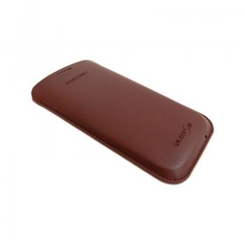 Husa Samsung pentru i9300 Galaxy S III din piele EFC-1G6LDECSTD