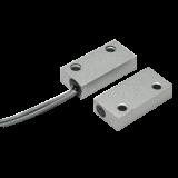 Contact magnetic aplicabil 5C-51 pentru usi de lemn (NC) Interspatiu 20-25mm aliaj de zinc gri