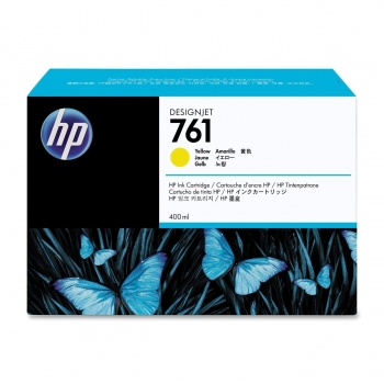 Cartus Cerneala HP Nr. 761 Yellow 400 ml for Designjet T7100 CM992A