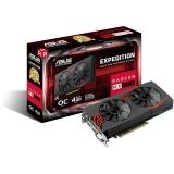 Placa Video Asus Radeon RX 570 OC 4GB GDDR5 256 bit PCI-E x16 3.0 DVI HDMI Display Port EX-RX570-O4G