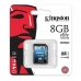 Card Memorie SDHC Kingston 8GB Clasa de viteza 10 SD10G3/8GB