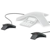Kit 2 microfoane pentru sistem de audio-conferinta SoundStation IP7000 2200-40040-001