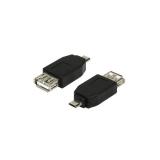 Adaptor USB - microUSB LogiLink AU0029 Female - Male