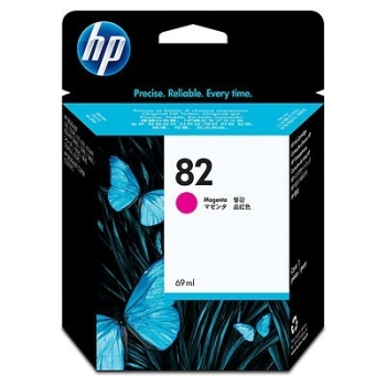 Cartus Cerneala HP Nr. 82 Magenta 69 ml for Designjet 10PS, Designjet 20PS, Designjet 50PS, Designjet 500, Designjet 800, Designjet CC800, Designjet 510 A0 C4912A