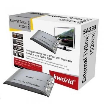 TV Tuner Extern Kworld TV BOX 1920ex VGA SA233