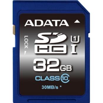 Card Memorie SDHC ADATA 32GB Clasa 10 UHS-I ASDH32GUICL10-R