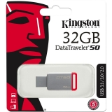 Memorie USB Kingston DT50 32GB USB 3.0 Red DT50/32GB