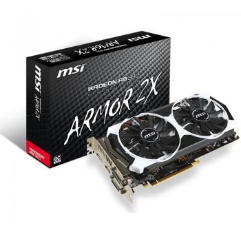 Placa Video MSI AMD Radeon R9 380 OC 2GB GDDR5 256 bit PCI-E x16 3.0 DVI HDMI DisplayPort R9 380 2GD5T OC