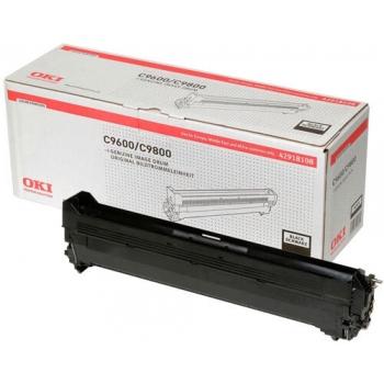 Unitate Cilindru Oki 42918108 Black 30000 Pagini for C9600, C9650, C9800, C9850