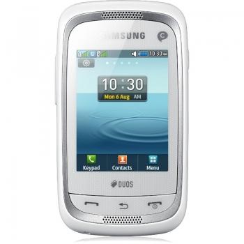 Samsung Champ Neo C3262 Ceramic White Dual SIM SAMC3262WHT