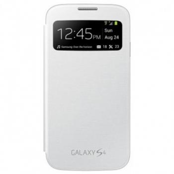 Husa Samsung S-View pentru i9505 Galaxy S IV white EF-CI950BWEGWW