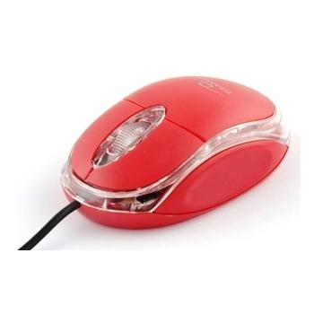 Mouse Titanum TM102R optic 3 butoane 1000dpi USB Red 5901299901656