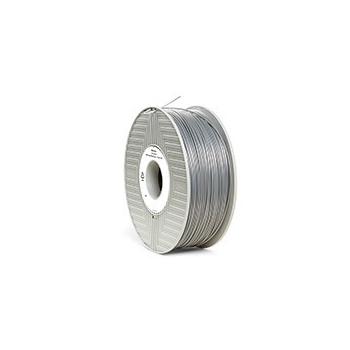 Filament 3D Verbatim ABS 1.75mm 1Kg Silver Metal 55016