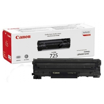 Cartus Toner Canon CRG-725 Black 1600 Pagini for LBP 6000, LBP 6000B CR3484B002AA
