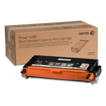Cartus Toner Xerox 106R01391 Black Standard Capacity 3000 Pagini for Phaser 6280DN, Phaser 6280N