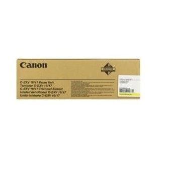 Unitate Cilindru Canon C-EXV16/17 Yellow 60000 Pagini for CLC 4040, CLC 5151, IR C4080, IR C4580, IR C5185 CF0255B002AA