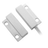 Minicontact aparent SCS MC-08W alb Interspatiu 1,5 cm plastic NC Prindere hosurub
