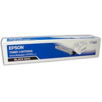 Cartus Toner Epson C13S050245 Black 10000 Pagini for Aculaser C4200, C4200DNPC5, C4200DTNPC5