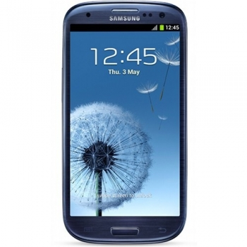 "Telefon Mobil Samsung Galaxy S3 i9300 Pebble Blue 4.8"" 720 x 1280 Cortex A9 Quad Core 1.4GHz memorie interna 16GB Camera Foto 8MPx Android 4 SAMI9300BL"