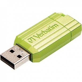VERBATIM USB STORE N GO STRIPE GREEN 8GB