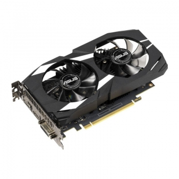Placa video Asus GeForce DUAL GTX 1650, 4GB GDDR5 (128 Bit), HDMI, DVI, DP