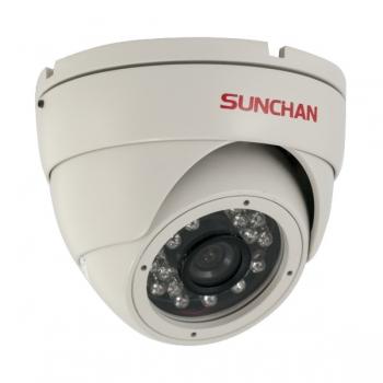 "Camera de supraveghere Sunchan DM-5006M CMOS 1/3"" 600 LTV 3.6mm Dome"