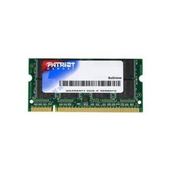 Memorie RAM Laptop So-DIMM Patriot 1GB DDR2 800MHz CL6 PSD21G80081S