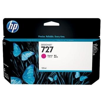 Cartus Cerneala HP Nr. 727 Magenta 130ml for DesignJet T1500 ePrinter, T920 ePrinter B3P20A