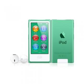 MP3 Player Apple iPod nano generatia a 7-a 16GB Green MD478QB/A