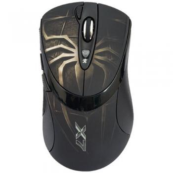 Mouse A4Tech XL-747H Laser 5 Butoane 3600dpi USB Black