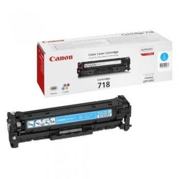 Cartus Toner Canon CRG-718C Cyan 2900 Pagini for LBP 7200CDN, MF 8330CDN, MF 8350CDN CR2661B002AA