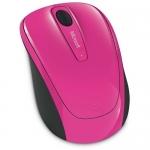 Mouse Wireless Microsoft Mobile 3500 BlueTrack 3 Butoane 1000dpi USB Pink GMF-00276
