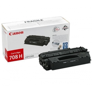 Cartus Toner Canon CRG-708 H Black 6000 Pagini for LBP 3300, LBP 3360 CR0917B002AA