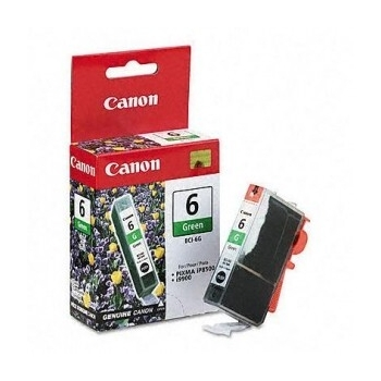 Cartus Cerneala Canon BCI-6G Green for 9900I, I9900, I9950, Pixma IP8500, Pixma IP8600 BS9473A002AA
