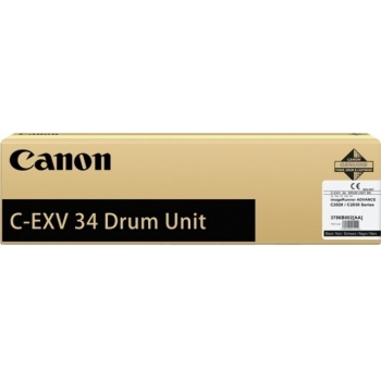 Unitate Cilindru Canon C-EXV34Bk Black 43000 Pagini for IR Advance C2020L, IR Advance C2030L CF3786B003BA