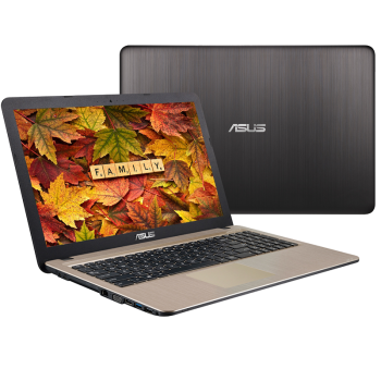 "Laptop Asus X540SA-XX311 Intel Celeron N3060 Braswell Dual Core up to 2,48 GHz 4GB DDR3L HDD 500GB Intel HD 400 15.6"" black"